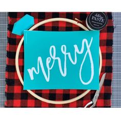 Create this easy DIY buffalo plaid Christmas wreath with fabric, embroidery hoop. - Create this easy DIY buffalo plaid Christmas wreath with fabric, embroidery hoop, decorative greens - Dollar Tree Christmas, Plaid Christmas, Rustic Christmas, Simple Christmas, Christmas Holidays, Easy Diy Christmas Gifts, Christmas Swags, Easy Diy Gifts, Primitive Christmas