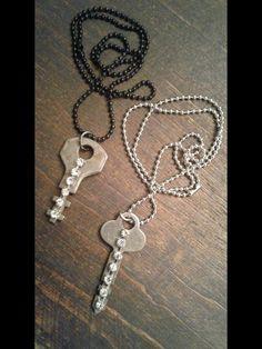 Cute vintage key necklaces Key Necklace, Necklaces, Key Jewelry, Vintage Keys, Chain, Collar Necklace, Wedding Necklaces, Skeleton Key Necklace