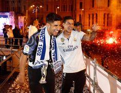El Real Madrid celebró el título de Liga en la Cibeles   fotos   Real Madrid CF