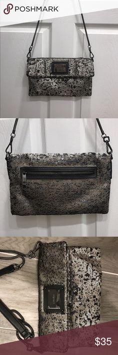 """Calvin Klein Sequence bag Gorgeous sequence Calvin Klein bag.  11""""x7"""" with detachable cross body strap. Calvin Klein Bags Crossbody Bags"""