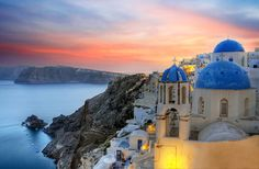 Travel to Santorini, Greece