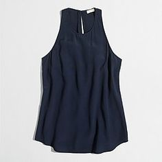 J. Crew racer tank to be paired with midi skirt!