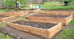 raised bed prepared for planting