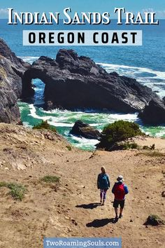 The Indian Sands Trail is a short but stunning hike in Oregon along the Samuel H. Boardman State Scenic Corridor. The incredible diversity of the trail will impress even the most well-traveled hikers. There's ocean views, rocky islands, dramatic cliffs, pine-covered mountains, colorful flowers, sandy bluffs, and a natural rock arch. #SamuelHBoardmen #IndianSands #Oregon