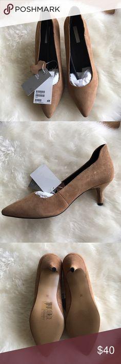 H&M - Suede heels H&M - BWT - Suede heels, size 7 US , 38 EUR H&M Shoes Heels