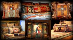 Ranch House Western Decor offers an assortment of western, southwestern, lodge, and rustic home decor products including  western luxury bedding sets, decorative pillows, cowboy & cowgirl pillows, native American pillows, horse pillows, monogrammed pillows, animal pillows, western table runners, western wall hangings, western & southwestern fabrics and other fabric fashion accessories for your home.