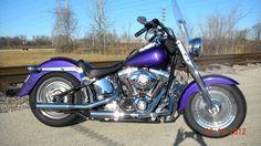 Used 2002 Harley Custom Softail Fat Boy