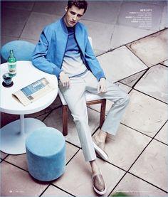 9ad1fc9a704 Scenes from the City  Adrien Sahores   Garrett Neff Model Designer Styles  for Neiman Marcus