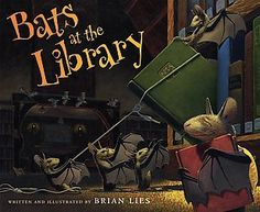 Bats in the Library   1st Grade Library Lessons