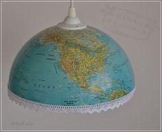 Globuslampe - globe lamp Globe Lamps, Etsy, Lighting, Home Decor, Art, Art Background, Decoration Home, Room Decor, Kunst