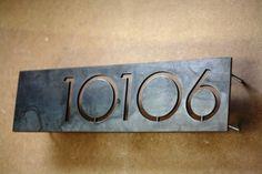 stand-off modern address water cut steel plate
