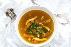 Dýňový vývar | Hodně domácí Thai Red Curry, Soups, Ethnic Recipes, Food, Essen, Soup, Meals, Yemek, Eten