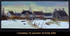 Original oil painting on canvas by Louis Tremblay Canadian Artists, Oil Painting On Canvas, Original Paintings, Landscape, Scenery, Corner Landscaping