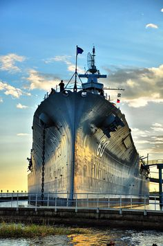 Battleship Alabama - Mobile Alabama by Deadly Dreamer                           by  Deadly_Dreamer