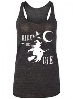 """Women's """"Ride of Die"""" Tank by Black Hope Curse (Black)"""