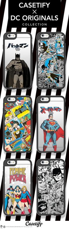 Which is your favourite DC Comics character? Hurry and check out these new #CASETIFYxDCORIGINALS cases! Shop link here: https://www.casetify.com/collections/dc_originals#/ | @casetify
