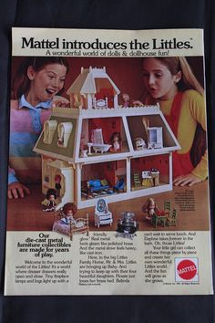 Vintage Mattel Advertisement The Littles Dollhouse 1981 ad in Dolls & Bears, Dolls, By Brand, Company, Character | eBay