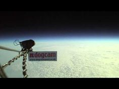 DogCam flies to the edge of space 110,000ft on a balloon! - YouTube