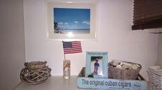 "was ""backsteln"" wir denn heute? USA decor Beach Sanibel Island 1.Mai Feiertag flag wood box"