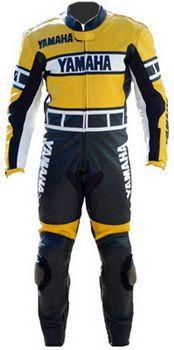 $299.00 - Yamaha Black and Yellow Race Replica Suit