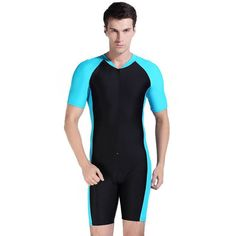 Sbart Summer Swimwear Women Men Lycra Short Sleeve UV-proof Surf Surfing Swiming Swimwear Swimsuit Scuba Diving Suit Wetsuits