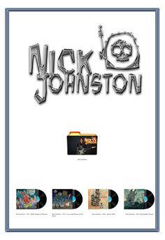 Album Art Icons: Nick Johnston Discography Icons (ICO & PNG)