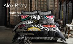 Transform your space from a bedroom to a boudoir with the creativity of alex perry and the quality of pure natural cotton here at linen house. Linen Bedding, Bed Linen, Alex Perry, Quilt Cover, Bedding Collections, Bed Covers, Your Space, My House, Comforters