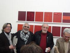 Con mis amigos en la muestra LATINAMENTE Napoli. Italia