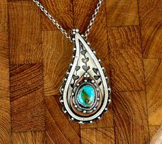 @Suzanne Miller Schulte - Turquoise Paisley, made me think of you!!  Kingman mine Turquoise | Louise O'Dwyer