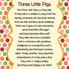 The Three Little Pigs is a classic fairy tale. This thematic unit includes a wide variety of Common Core LA skills: characters, sequencing, cause and effect, asking sentences, telling sentences, opposites/ synonyms, and rhyming words.  Hope you like it!