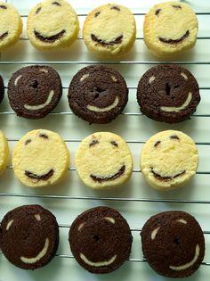 smile ice box cookies