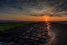 """De start van een geweldig mooie dag aan de Zeeuwse kust tussen Cadzand-bad en Nieuwvliet bad.....""""De verdronken zwarte polder"""""""
