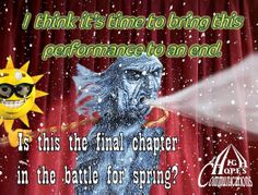 It's time to bring this performance to an end www.highhopescommunications.ca Things To Think About, Battle, Bring It On, Spring, Movie Posters, Movies, 2016 Movies, Film Poster, Films