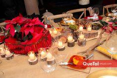 Posada Navideña   Quetal Virtual #mesa #cenadenavidad #decoración