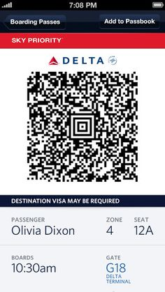 Boarding Pass by Mocleasa Valentin, via
