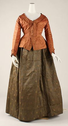 Ensemble  --  18th Century  --  Likely Austrian  --  The Costume Institute at The Metropolitan Museum of Art