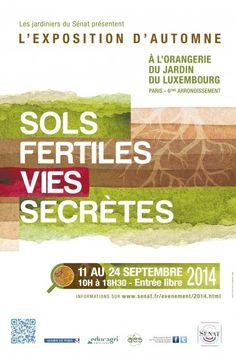 « Sols fertiles, vies secrètes », l'exposition d'automne à l'Orangerie du Jardin du Luxembourg PARIS http://www.pariscotejardin.fr/2014/09/sols-fertiles-vies-secretes-lexposition-dautomne-a-lorangerie-du-jardin-du-luxembourg/