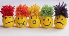 stress balls with baloons and flour