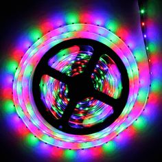 Colored Led Light Strips Amusing 10M Rgb Color Changing Led Light Strip With 44 Key Remote Control Design Ideas