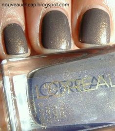 Brit Invasion, L'Oreal London Fall 2012 Nail Color Collection