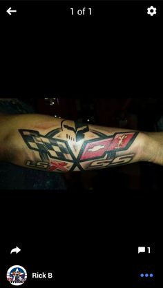 Dedication right here. Chevy Tattoo, Racing Tattoos, Car In The World, Fast Cars, Photo Art, Chevrolet, Ink, Random, Drawings