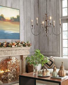 Shop for Salento Vintage-Copper 6-Light Chandelier by Horchow at ShopStyle. Now for $450.