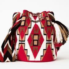 Resultado de imagem para schemi mochila wayuu