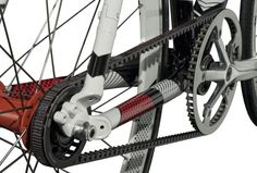the Gates Belt drive system, need to have this on my bikes! Maaayyybe