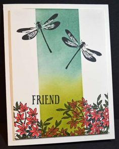 Flight of the Dragonflies – Stampin' Up! Card