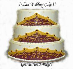 Indian Wedding Cake II