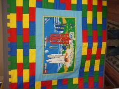 lego quilt - can someone teach me HOW to do this?  Love it!!!