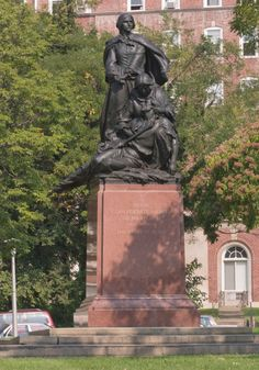 Confederate Women of Maryland monument, one of several Confederate symbols in Baltimore.