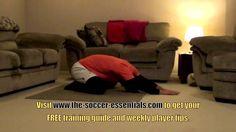 Soccer Workout At Home: At Home Soccer Workout For Flexibility
