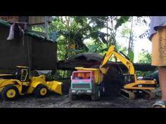 bruder | Construction machines | excavator scania truck and wheel loader...